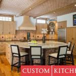 West End: family room and kitchen addition- Custom Kitchens Inc.  kitchen designer
