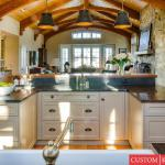 Spring Hill: family room and kitchen addition Custom Kitchens Inc. kitchen designer